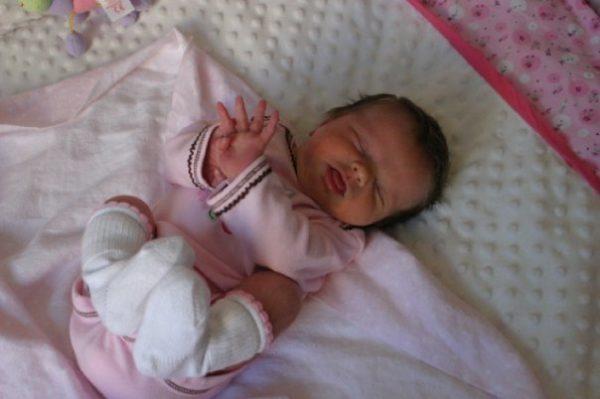 Baby Munchkin sleeping